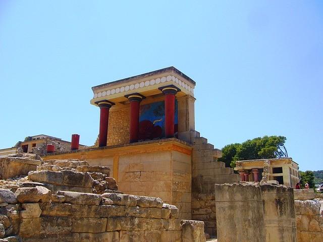 Кносский дворец царя Миноса