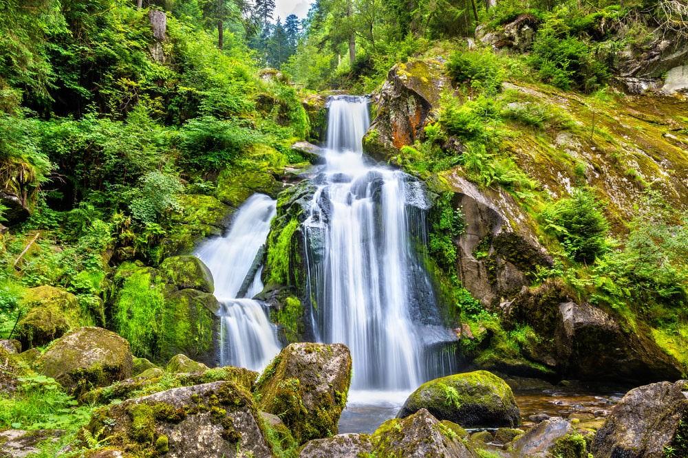 Водопад в Триберге