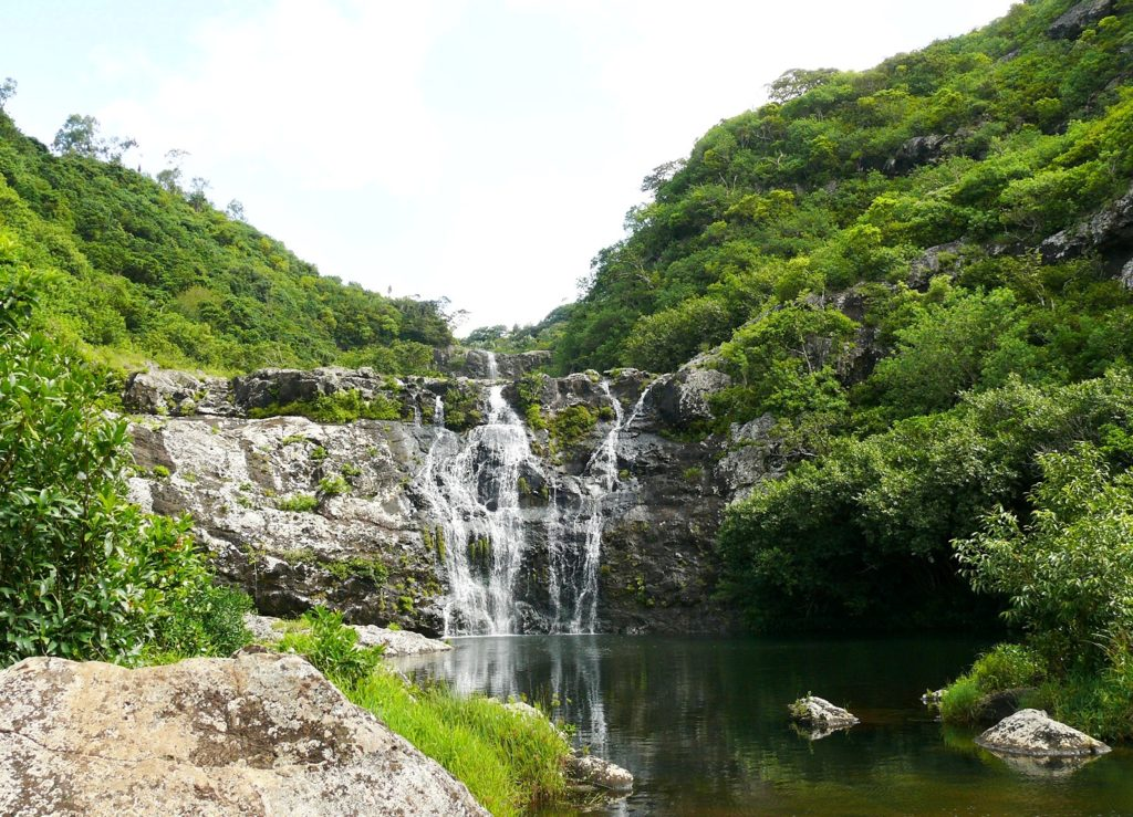Водопад Тамарин